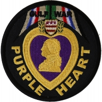 Gulf War Purple Heart Patch | US Military Veteran Patches