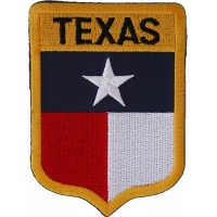 Texas Shield Patch | Embroidered Patches