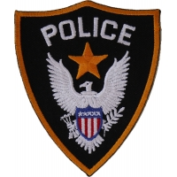Police Patch   Embroidered Patches