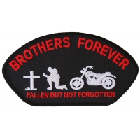 Brothers Forever Biker Cap Patch | US Military Veteran Patches