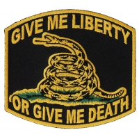 Give Me Liberty Or Give Me Death Patch | US Military Veteran Patches