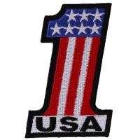 1 USA Patch | Embroidered Patches