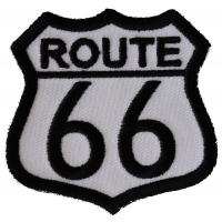 Route 66 Medium Patch | Embroidered Biker Patches