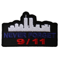 Never Forget 9 11 Patch | Embroidered Patches