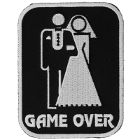 Game Over Marriage Patch Medium | Embroidered Patches