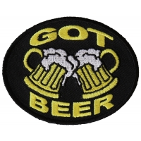Got Beer Patch | Embroidered Patches