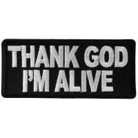Thank God I'm Alive Patch