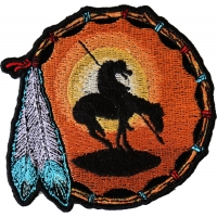 End Of The Trail Small Patch | Embroidered Patches