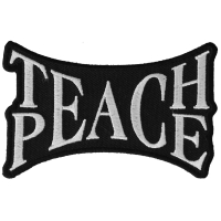 Teach Peace Patch | Embroidered Patches