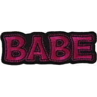 Babe Patch | Embroidered Patches