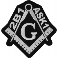 2B1 ASK1 Mason Symbol Patch | Embroidered Patches