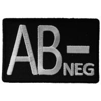 AB NEGATIVE Blood ID Patch