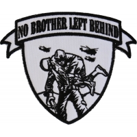 No Brother Left Behind Small Patch | Embroidered Patches