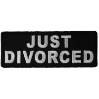 Just Divorced Patch | Embroidered Patches