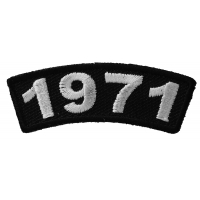 1971 Year Patch