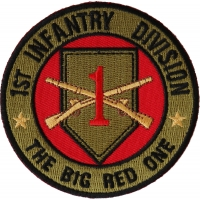 1st Infantry Division Patch The Big Red One