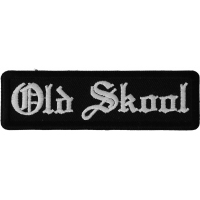 Old Skool Patch In Old English