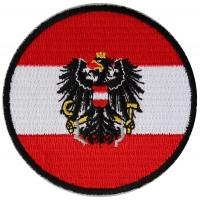 Austrian Flag Patch