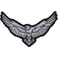 Black And White Eagle Patch