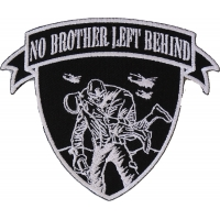 No Brother Left Behind Soldier Carrying Soldier Patch
