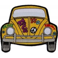 Hippie Bug Car Patch