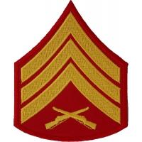 Sergeant Marine Patch