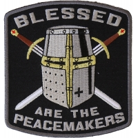 Blessed Are The Peacemakers Knight Patch