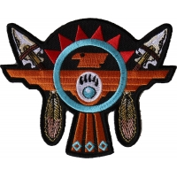 Native American Thunderbird Arrows Patch