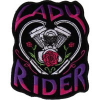 Lady Rider Path with Engine Roses