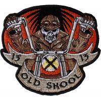 Old Skool Biker Patch