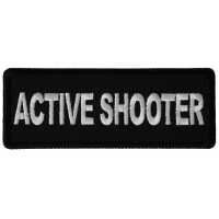 Active Shooter Patch