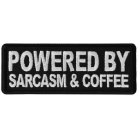 Powered By Sarcasm and Coffee Patch