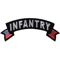 Infantry Small Flag Rocker Patch