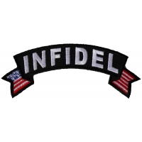Infidel Small Flag Rocker Patch
