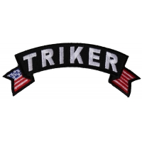 Triker Small Flag Rocker Patch