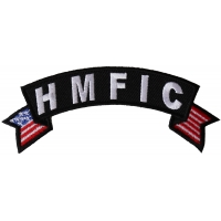 HMFIC Small Flag Rocker Patch