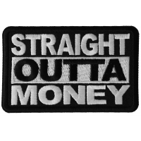 Straight Outta Money Patch