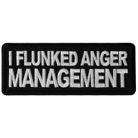 I Flunked Anger Management Patch
