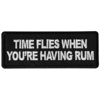 Time Flies when you are having Rum Patch
