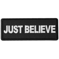 Just Believe Patch