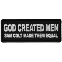 God Created Men, Sam Colt Made them Equal Patch