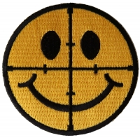Sniper Scope Smiley Face Patch