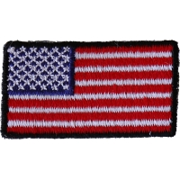 American Flag Embroidered Iron on Patch