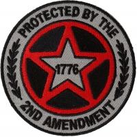 Protected by The 2nd Amendment 1776 Patch