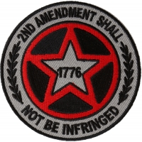 2nd Amendment Shall Not be Infringed Star Patch