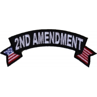 2nd Amendment Rocker Patch