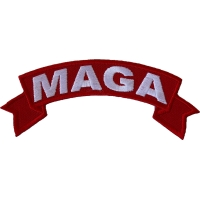 MAGA Red Rocker Patch