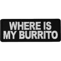 Where is My Burrito Patch