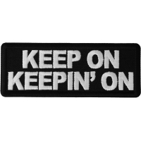Keep on Keeping On Patch