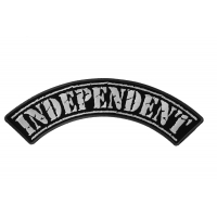Independent Large Top Rocker Patch